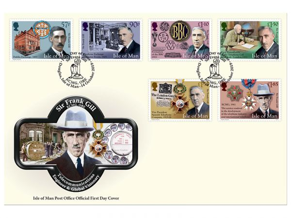 SIr Frank Gill First Day Cover