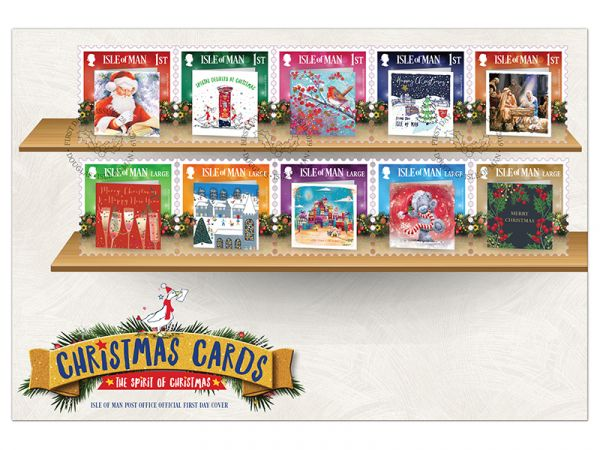 Christmas Cards First Day Cover