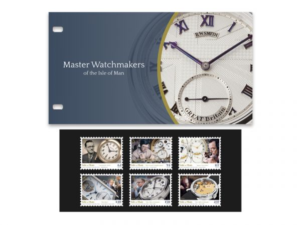 Master Watchmakers of the Isle of Man Presentation Pack