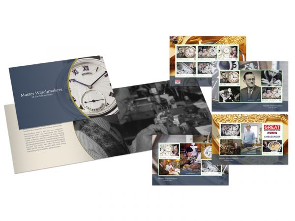 Master Watchmakers of the Isle of Man Prestige Booklet