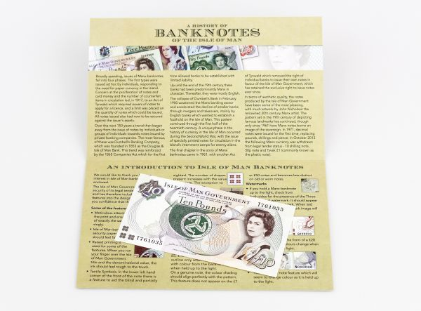 Mint Condition Isle of Man £10 Banknote – Signed by Sheila Lowe