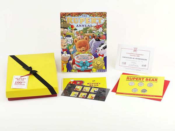 Rupert Bear 100th Birthday Limited Edition Compendium