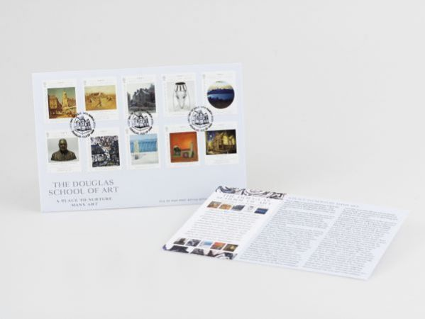 The Douglas School of Art Self Adhesive First Day Cover