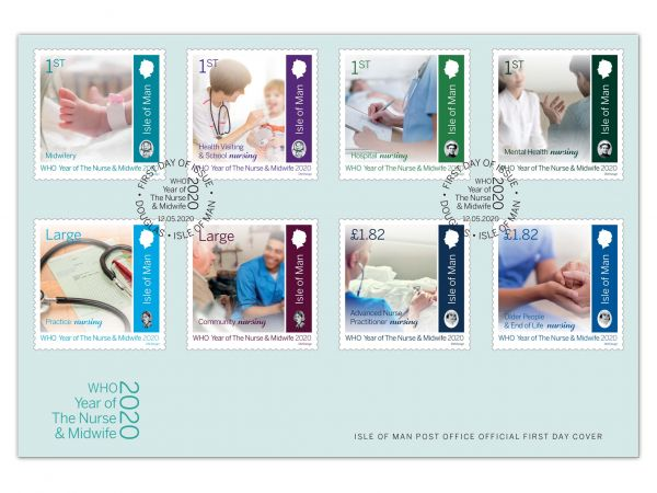Year of the Nurse and Midwife 2020 First Day Cover