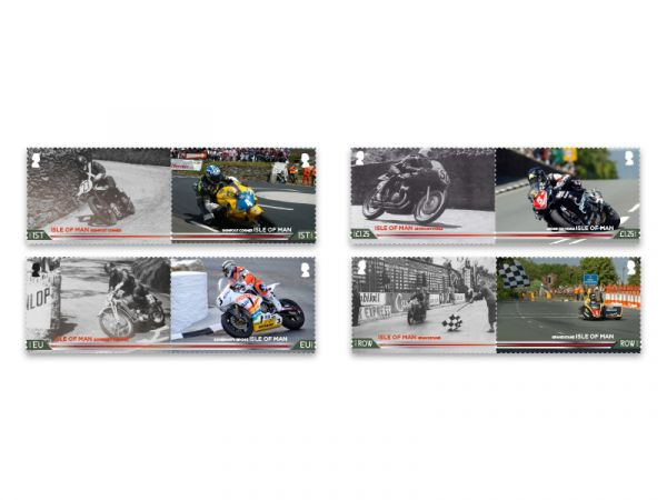 Centenary of the 37¾ miles Isle of Man TT Course Set and Sheet Set