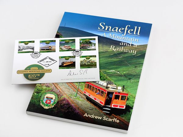 Snaefell - A Mountain and a Railway:  Signed First Day Cover and Book Collection