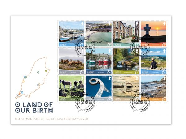 O Land of Our Birth First Day Cover