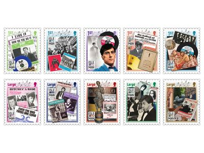 Songwriter-Composer, Producer and Author Mitch Murray CBE Commemorated on a Colourful and Vibrant Set of Ten Stamps