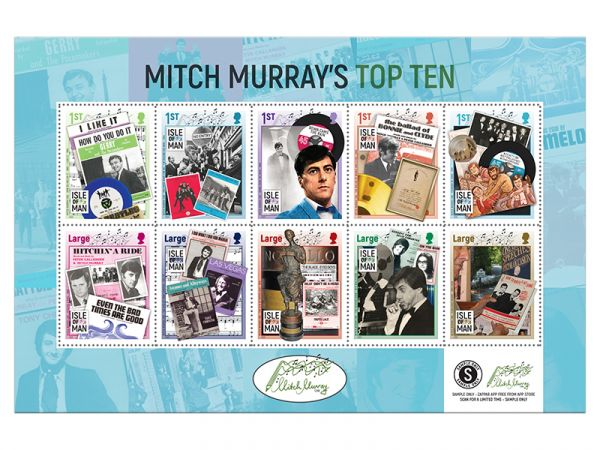 Mitch Murray's Top Ten Booklet Pane