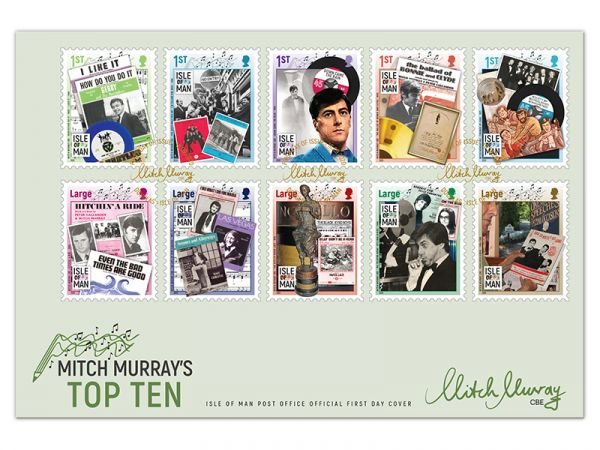 Mitch Murray's Top Ten First Day Cover