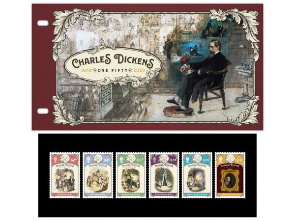Charles Dickens - One Fifty Presentation Pack