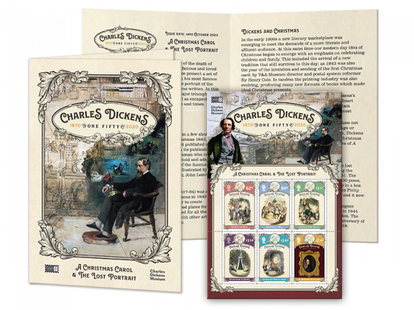 Charles Dickens - One Fifty Sheetlet