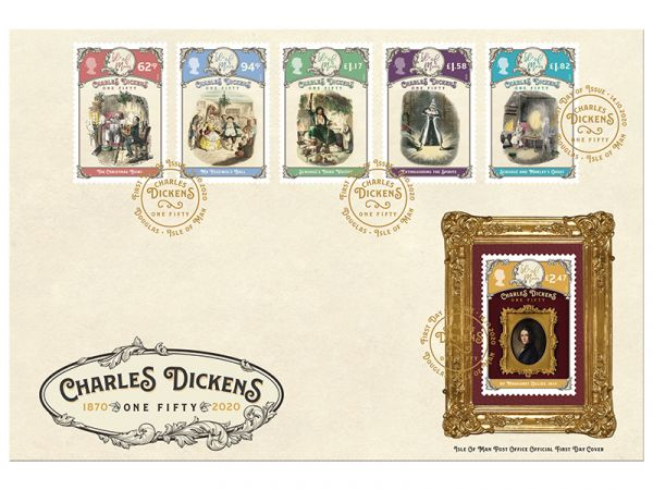 Charles Dickens - One Fifty First Day Cover