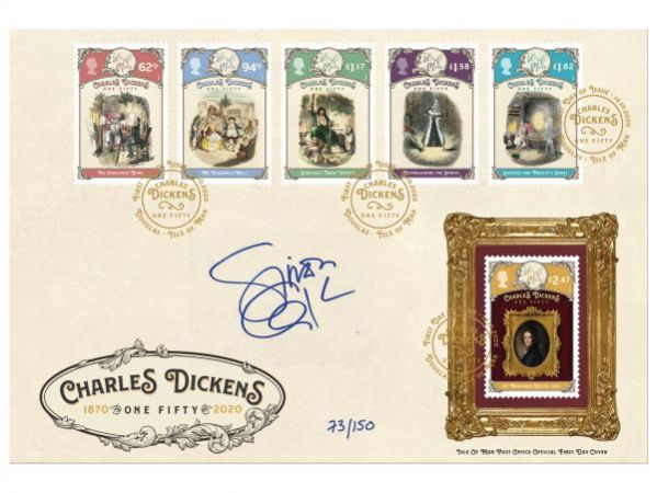 Charles Dickens - One Fifty Signed Simon Callow CBE Cover