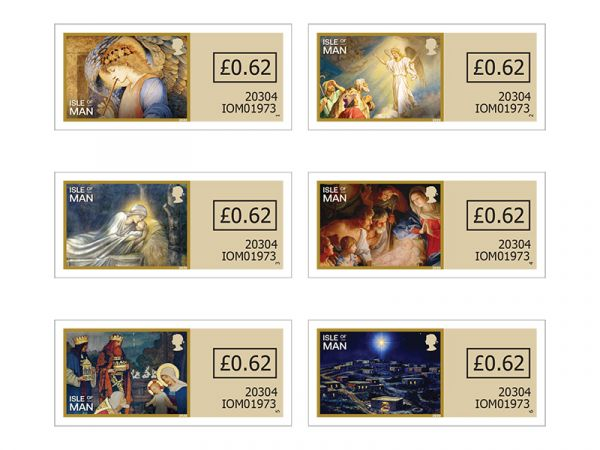 The Story of the Nativity Self Adhesive Set