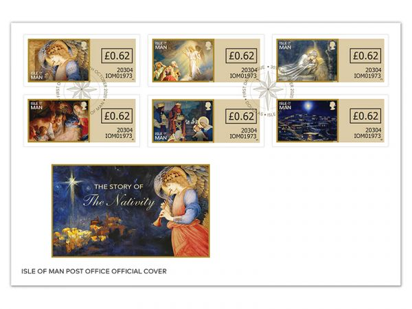 The Story of the Nativity Self Adhesive First Day Cover