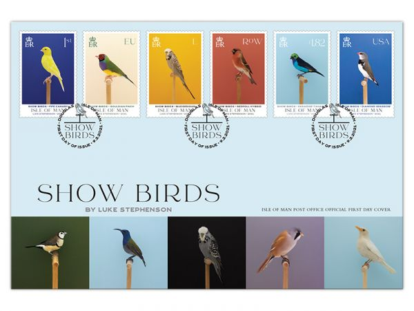 Show Birds First Day Cover