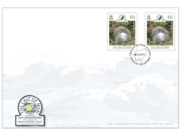 The Calf of Man Europa First Day Cover