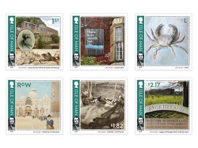 Isle of Man Post Office Celebrates the Life and Legacy of John Ruskin