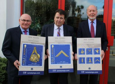 Isle of Man Post Office celebrates 300 years of English Freemasonry with hidden secret stamps