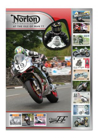 Norton TT Winner's Celebration Sheet