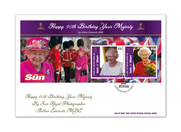 Happy Birthday Your Majesty Special Envelope