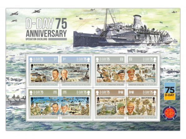D-Day 75 Commemorative Sheetlet