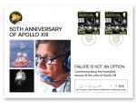 Isle of Man Post Office Commemorates 50th Anniversary of Apollo XIII with a Special Signed Jay Honeycutt Cover