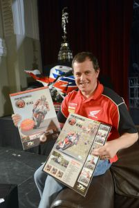 Isle of Man Stamps and Coins celebrated legend John McGuiness's birthday and his first 20 TT wins