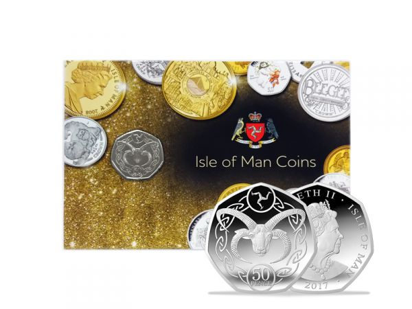 Fifty Pence - Manx Loaghtan Decimal Coin in Gift Pack