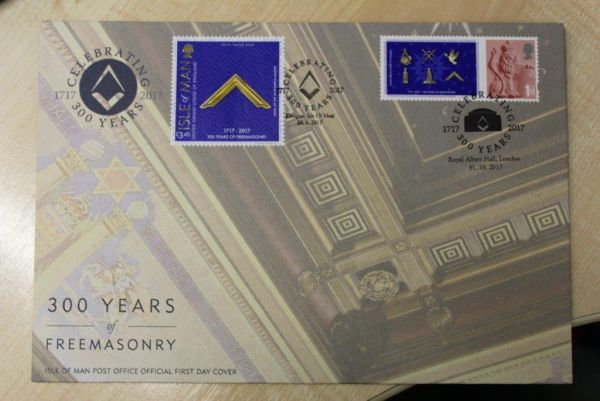 300 Years of Freemasonry Albert Hall Cover