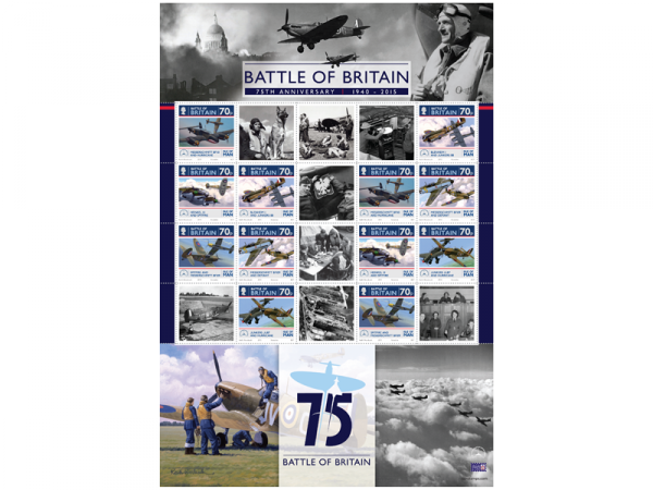 The Battle of Britain 75th Anniversary Commemorative Sheet