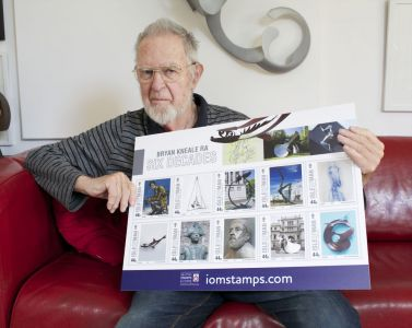 Post Office celebrates six decades of work by Manx artist Bryan Kneale