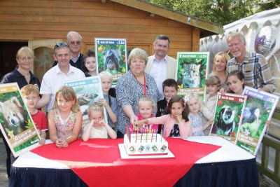 Curragh's Wildlife Park - 50th anniversary celebrations and stamps unveiling