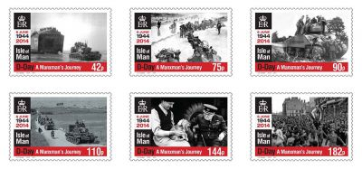 94-year-old war veteran to take new stamp issue commemorating D-Day on emotional return to Normandy for 70th Anniversary