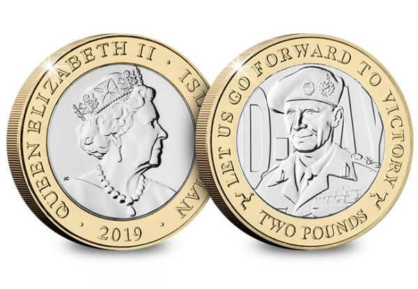 D-Day Commemorative £2 Coin - Field Marshal Bernard Montgomery