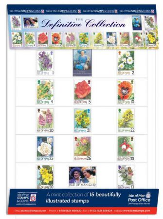IOM Definitive Stamps