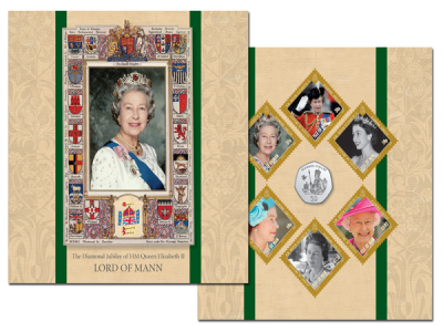 Queen's Diamond Jubilee Stamp & Coin Set
