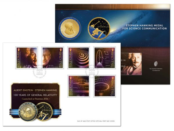 100 Year of General Relativity Starmus Special Envelope