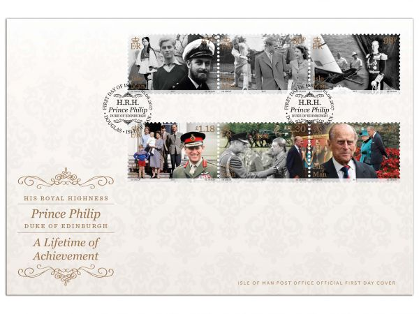 A Lifetime of Achievement First Day Cover