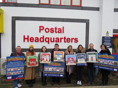 Isle of Man Post Office  Welcomes Members of the Greeting Card Association