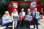 'Mail on the Rails' Manx Electric Railway in partnership with Isle of Man Post Office unveils Mail Van 4