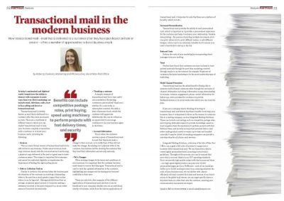 Transactional Mail in the Modern Business