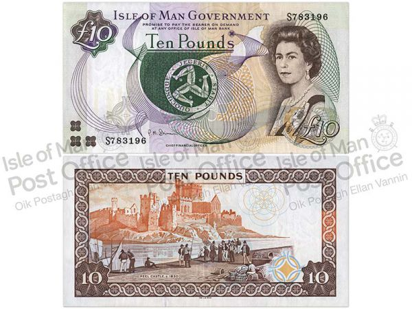 Isle of Man £10 Banknote