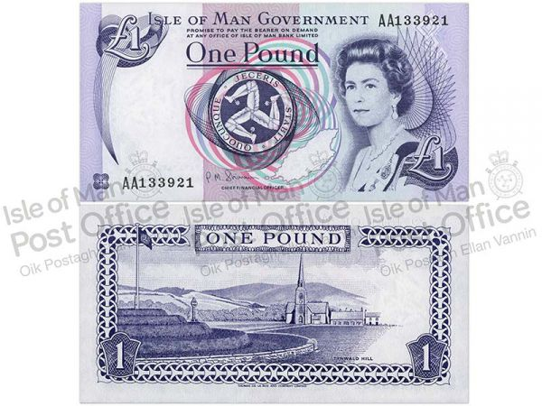 Isle of Man £1 Banknote