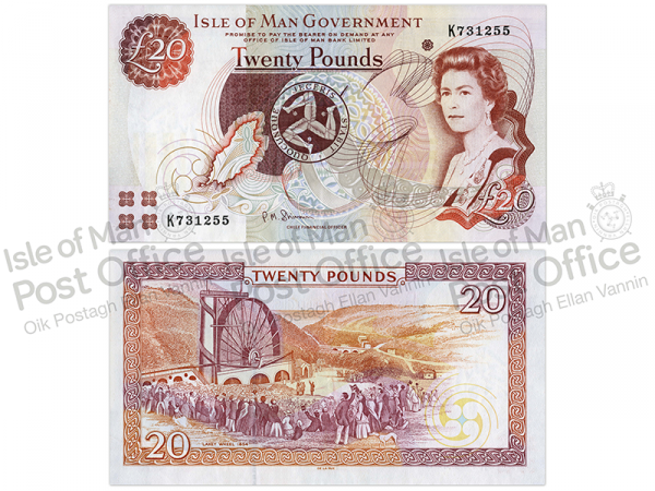 Isle of Man £20 Banknote