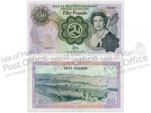 Isle of Man £50 Banknote