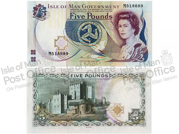 Isle of Man £5 Banknote