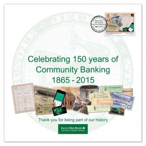 Isle of Man Post Office puts stamp on Isle of Man Bank's 150th birthday celebrations