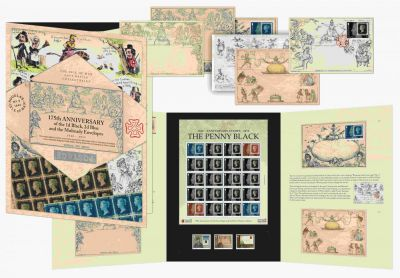 Isle of Man Post Office releases limited edition Penny Black Mulready collectible